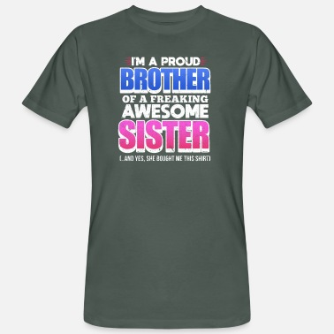 Brothers And Sisters brother, sister - Men's Organic T-Shirt