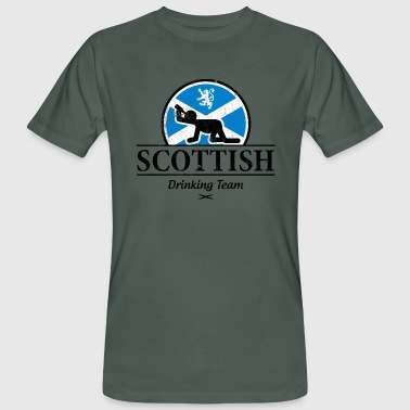SCOTTISH DRINKING TEAM - Men's Organic T-shirt