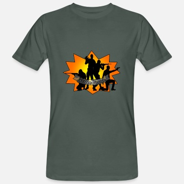 Troops Killer Troop - Ekologisk T-shirt herr