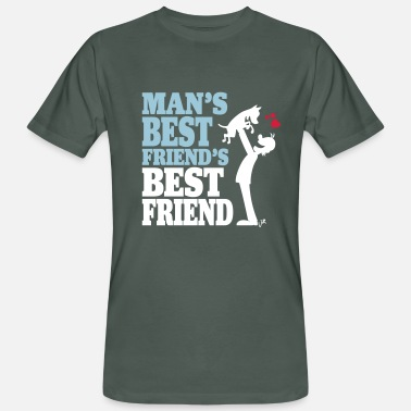 Man's best friend's best friend - Mannen Bio-T-shirt