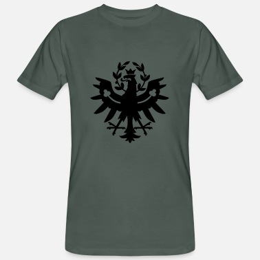 Real Tyrolean Tyrol Tyrolean Eagle - Men's Organic T-Shirt