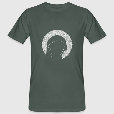 Portrait with halo - Men's Organic T-shirt