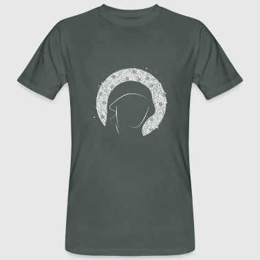 Halo Portrait with halo - Men's Organic T-Shirt