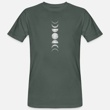 Outerspace Moon Phases Planet Galaxy Astronomy - Men's Organic T-Shirt