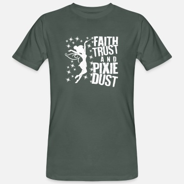 Pixie Dust Faith Trust And Pixie Dust Superluxe - Men's Organic T-Shirt
