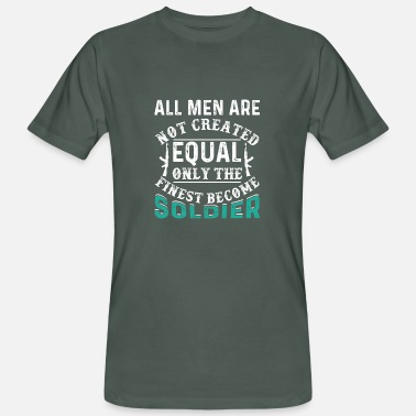 All Are Created Equal All Men Are Not Created Equal - Men's Organic T-Shirt