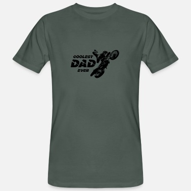 Coolest Dad Ever COOLEST DAD EVER - Men's Organic T-Shirt