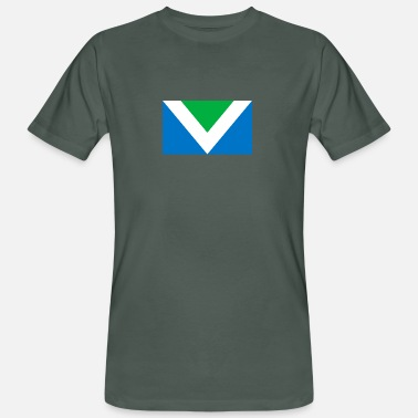 Biosphere International Vegan Flag - Men's Organic T-Shirt