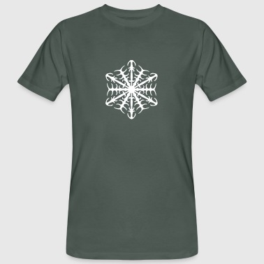 Ice Crystal Ice Crystal - Men's Organic T-Shirt