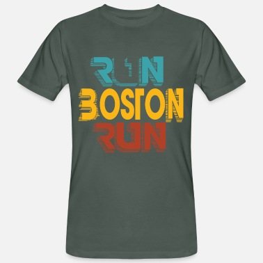 Boston Marathon Boston Marathon - Mannen bio T-shirt