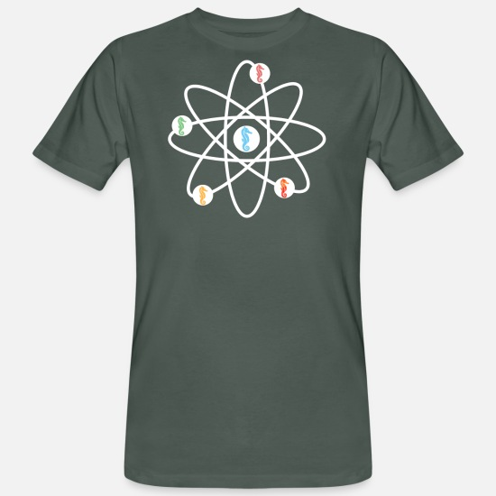 Science T-Shirts - Marine Biology Marine Biologist Biology student - Men's Organic T-Shirt dark grey