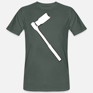 Ratchet Ratchet ratchet for the mechanic and locksmith - Men's Organic T-Shirt