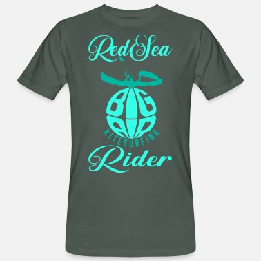 Rideandchill Red Sea Rider kitesurfing - Men's Organic T-Shirt
