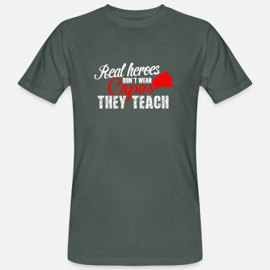 Teach teach hero teach - Men's Organic T-Shirt