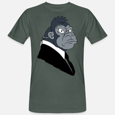 Gorilla Gorilla security i monkey in a suit - Men's Organic T-Shirt