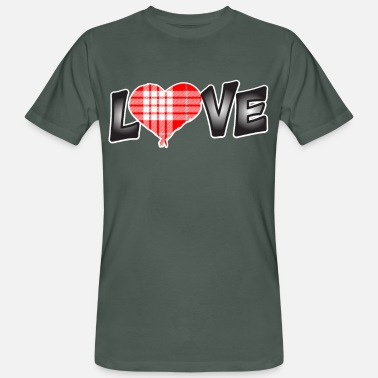 Love Struck Love struck - Men's Organic T-Shirt