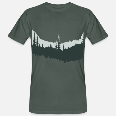 Forest Forest in - Men's Organic T-Shirt