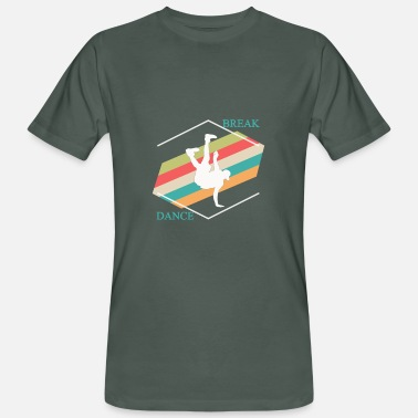 Breakdance breakdance - Mannen bio T-shirt