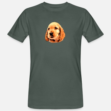 Puppy dog puppy - Men's Organic T-Shirt