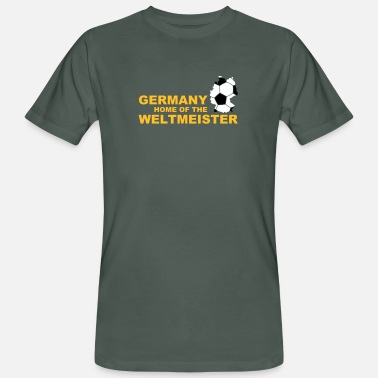 Championship germany home of the weltmeister 2 - Men's Organic T-Shirt
