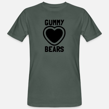 Gummy Love The Gummy Bears - Men's Organic T-Shirt