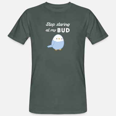 Budgie Budgerigar Budgie Funny gift - Men's Organic T-Shirt
