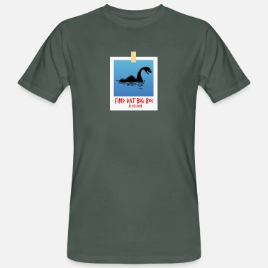 Storm Shadow Storm Lochness - Men's Organic T-Shirt