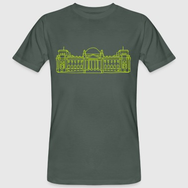 Reichstag building in Berlin - Men's Organic T-shirt
