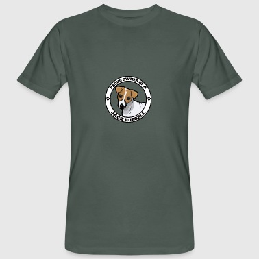 Hund / Jack Russell: Proud Owner Of A Jack Russell - Männer Bio-T-Shirt