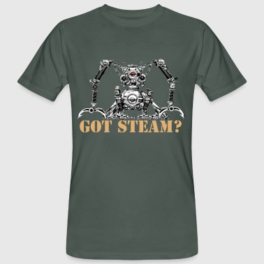 Got Steam? Men's Organic T-Shirt - Mannen Bio-T-shirt