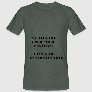 ENTERTAIN - Männer Bio-T-Shirt