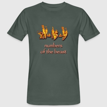 21-15-9 numbers of the beast - Men's Organic T-shirt