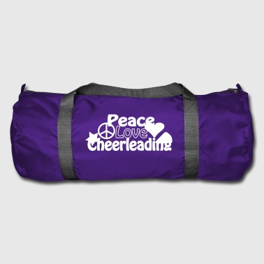 Peace Love Cheerleading - Sac de sport