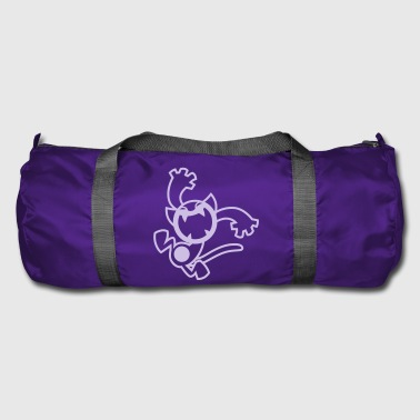 Gato chistoso de Cheerful Madness!! - Bolsa de deporte