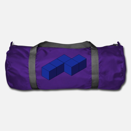 Stylish Bags & Backpacks - Cube - Duffle Bag purple