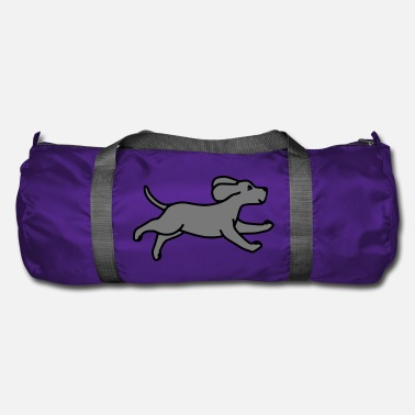 Dog Is Running Dog runs - Duffle Bag