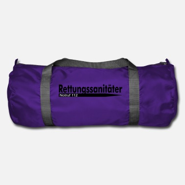 Emergency Call Paramedic Emergency Call 112 - Duffle Bag