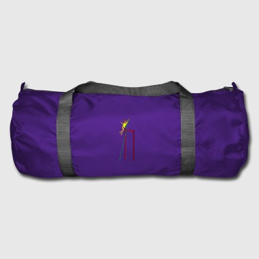 high jump jumping jump jump ballerina31 - Duffel Bag