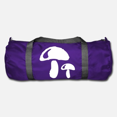 Food Collection Mushroom plant vegetarian forest collecting vegan food - Duffle Bag