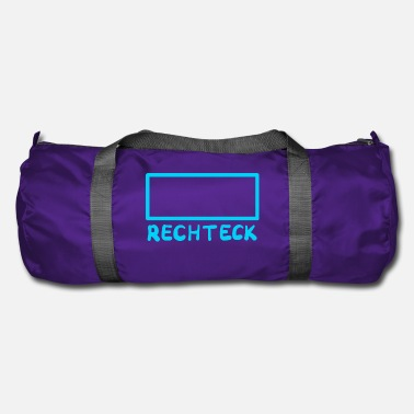 Rectangle rectangle - Sac de sport