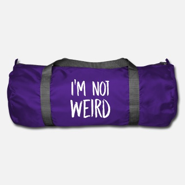 Weird im not weird blanc - Sac de sport