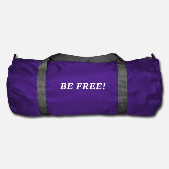 Freedom Bags & Backpacks - BE FREE - Duffle Bag purple