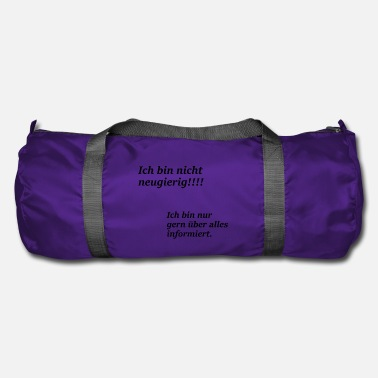 Information Informed - Duffle Bag