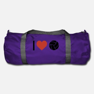 Sports I heart volleyball sport - Duffle Bag