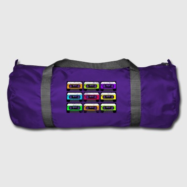 Audio cassette shirt - Duffel Bag