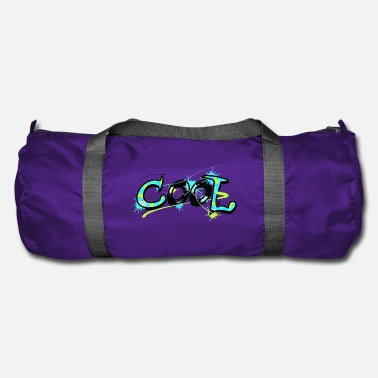 Cool Art Graffiti Cool Word - Cool Shirt for Cool - Art - Duffle Bag