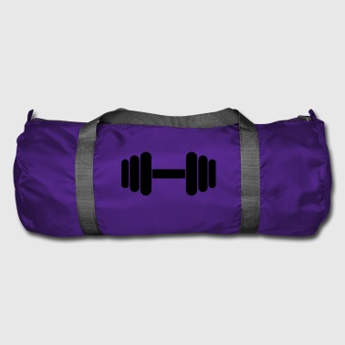 dumbbell dumbbell - Duffel Bag