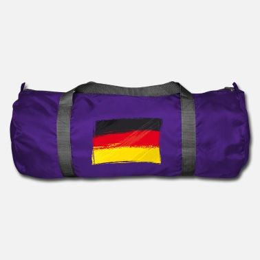 Black Red Gold Flag, Flag, Germany fan - Duffle Bag