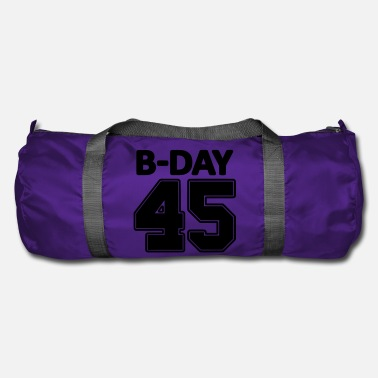 Number 45th Birthday / Numbers Number Number Number 45 - Duffle Bag