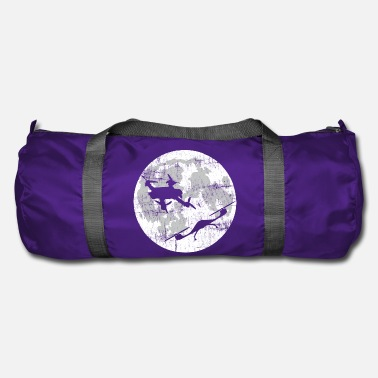 Romantic date before the moon real drone love - Duffle Bag